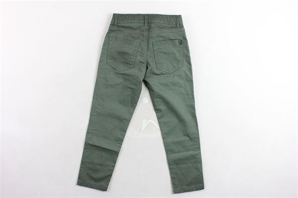 pantalone 5 tasche tinta unita DONDUP | Pantaloni | CE198VERDE MILITARE