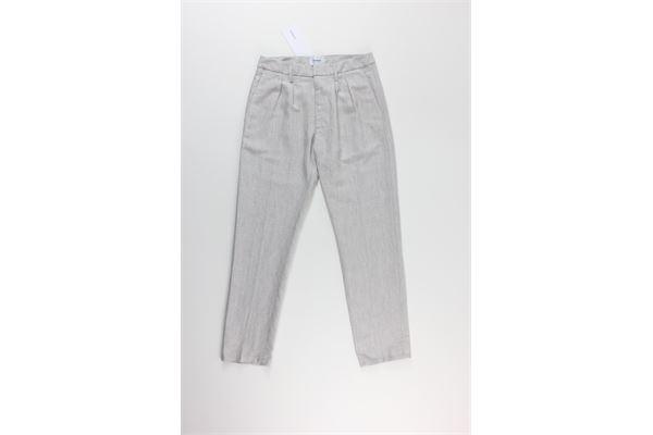 pantalone tinta unita DONDUP | Pantaloni | DP483GRIGIO