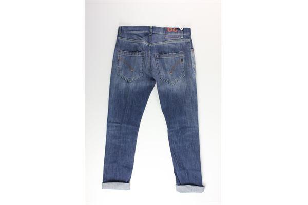 jeans tinta unita 5 tasche DONDUP | Jeans | UP168BLU