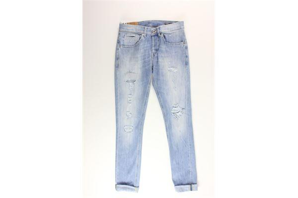 jeans tinta unita 5 tasche DONDUP | Jeans | UP2323BLU