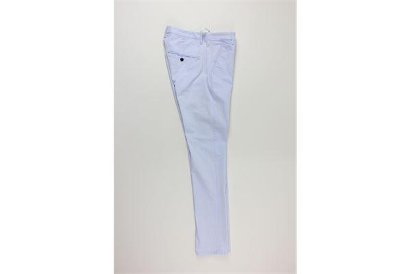 pantalone tinta unita DONDUP | Pantaloni | UP235CELESTE