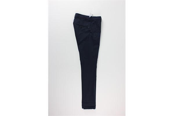 pantalone tinta unita DONDUP | Pantaloni | UP236BLU