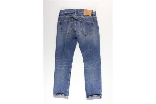 jeans tinta unita 5 tasche DONDUP | Jeans | UP554BBLU