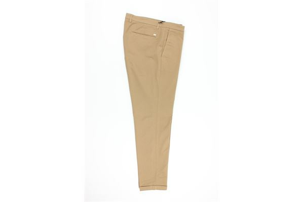 DOUBLE EIGHT | Trousers | G241TABACCO