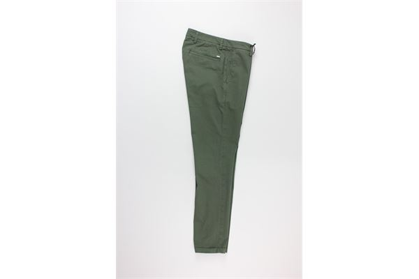 DOUBLE EIGHT | Trousers | G817VERDE MILITARE