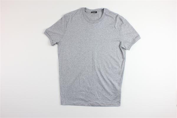 t-shirt basic tanta unita DSQUARED | T-shirts | D9X3C2400GRIGIO