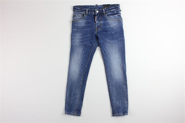 jeans in denim 5 tasche DSQUARED | Jeans | DQ021DBLU