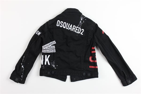 DSQUARED | Jackets | DQ03FPNERO