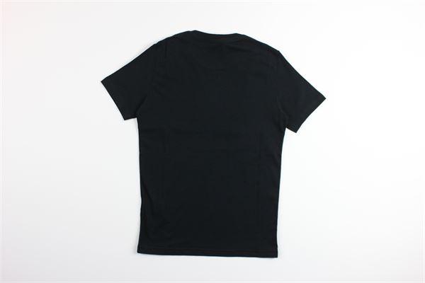 t-shirt mezza manica tinta unita con stampa DSQUARED | T-shirts | DQ03P5NERO