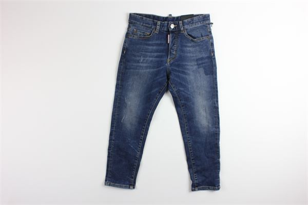 jeans in denim 5 tasche DSQUARED | Jeans | JEANS1DQBLU