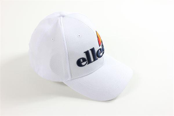berretto con strappo regolabile  tinta unita con stampa ELLESSE | Cappelli | A001S20BIANCO