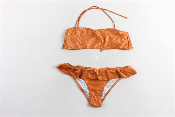 bikini tinta unita F**K | Costumi | F19J-B3011BRONZO