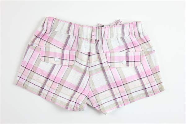 short fantasia a quadri elastico in vita FENDI | Shorts | U46469U2825ROSA
