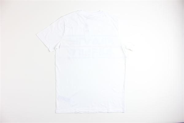 t-shirt mezza manica tinta unita con stampa FILA   T-shirts   687474BIANCO