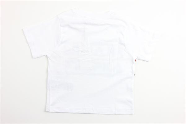 t-shirt tinta unita con stampa FILA | T-shirts | 688048BIANCO