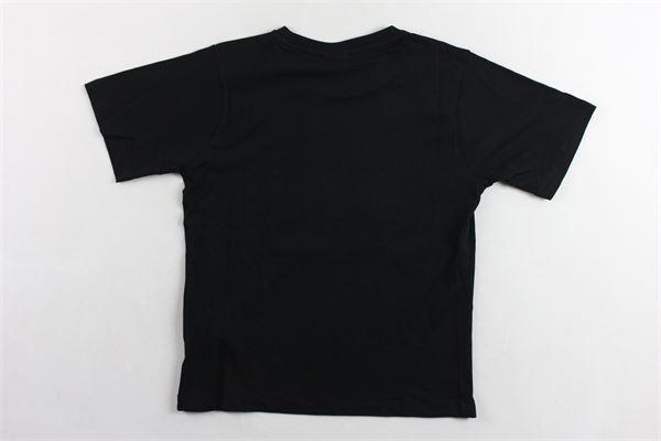 t-shirt tinta unita con stampa FILA | T-shirts | 688049NERO