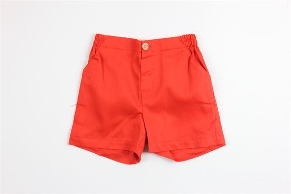 short tinta unita con elastico in vita FINA EJERIQUE   Shorts   P200B0536ARANCIO