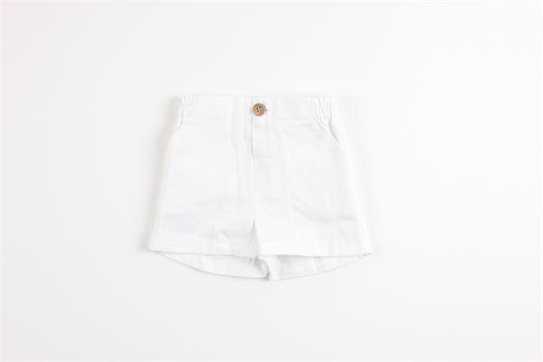 short tinta unita elastico in vita FINA EJERIQUE   Shorts   P20B3646BIANCO