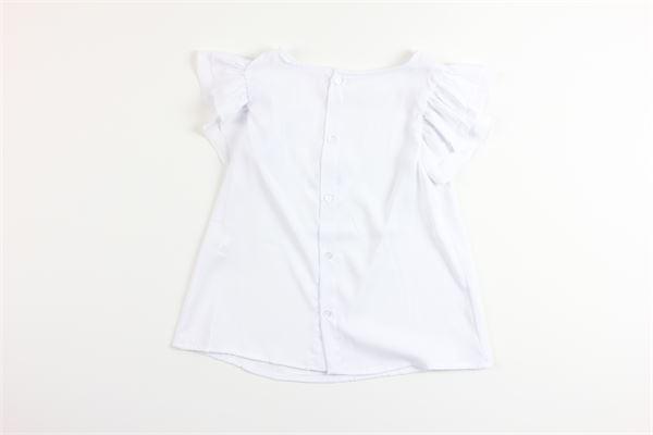 camicia mezza manica tinta unita FINA EJERIQUE   Camicie   P20M8679BIANCO