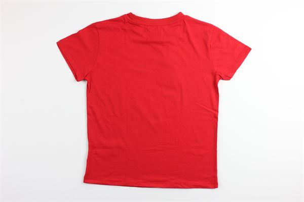 t-shirt tinta unita con stampa FRED MELLO | T-shirts | 024099ROSSO