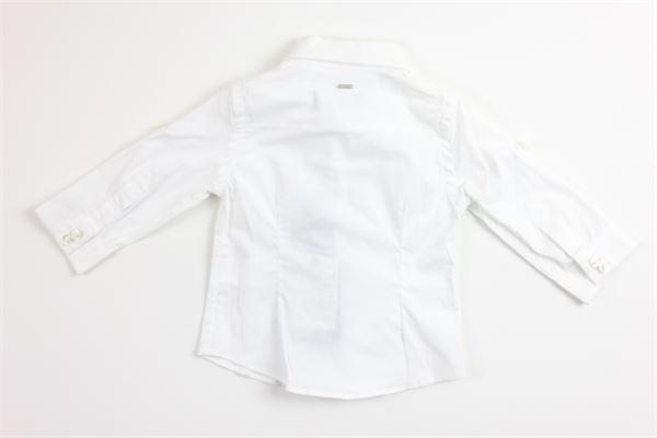 camicia manica lunga tinta unita FUN & FUN | Camicie | FNMNSH7383BIANCO