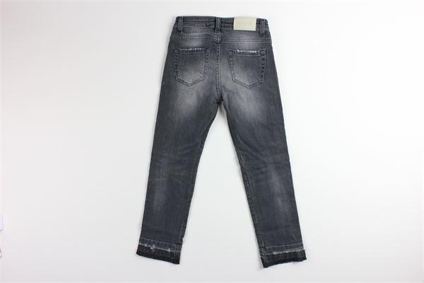 jeans girovita regolabile con profili in contrasto GAELLE | Jeans | 2741D0014GRIGIO