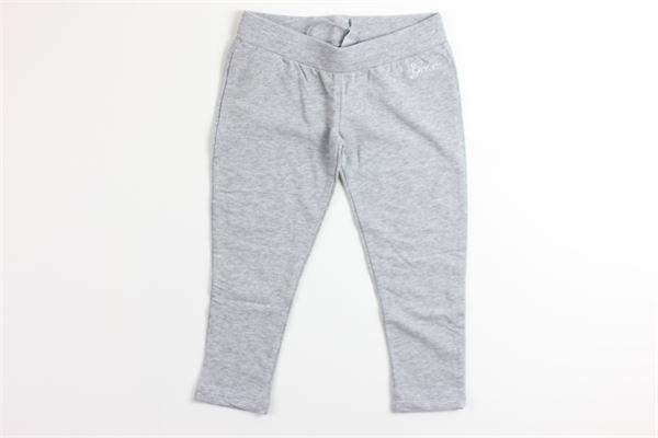 pantalone in felpa tinta unita GEOX | Pantaloni | K4235DGRIGIO