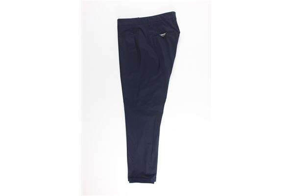 pantalone tinta unita tasche america GOLDEN CRAFT | Pantaloni | 5193BLU