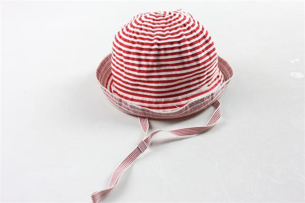 cappello a righe GREVI | Cappelli | 9640BIANCO/ROSSO