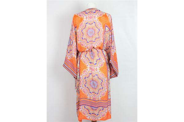 kimono stampa fantasia HALE BOB | Abiti | 9YAF7400ARANCIO