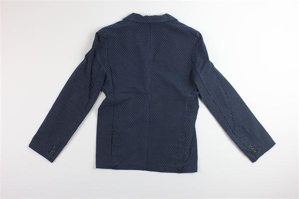 giacca tinta unita con fantasia a pois HEACH JUNIOR | Giacche | SKJE0370BLU