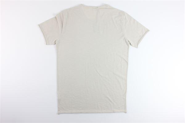 t-shirt basic tinta unita 100%cotone I MARSILI | T-shirts | F34BEIGE