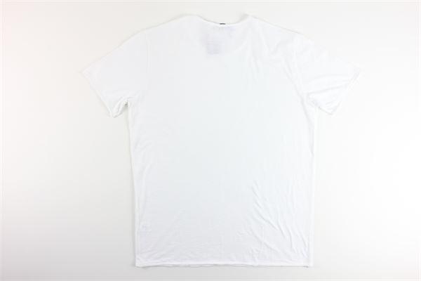 t-shirt basic tinta unita 100%cotone I MARSILI | T-shirts | F34BIANCO