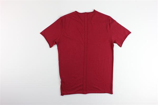 t-shirt basic tinta unita 100%cotone I MARSILI | T-shirts | S12BORDEAUX