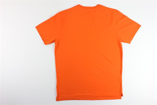 t-shirt tinta unita con stampa IN THE BOX | T-shirts | SS200020ARANCIO