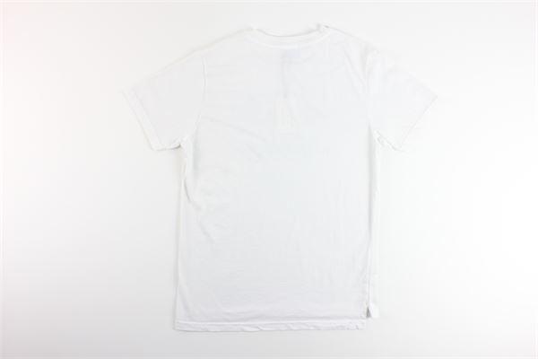 t-shirt tinta unita con stampa IN THE BOX | T-shirts | SS200020BIANCO