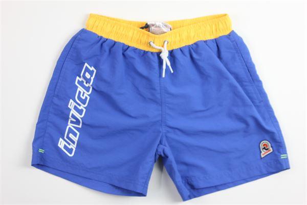 boxer tinta unita stampa INVICTA | Costumi | 4449113BLU