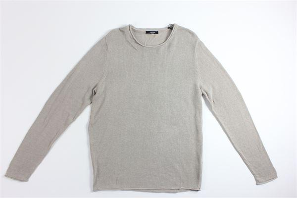 maglia tinta unita manica lunga JACK&JONES | Maglie | 12137548BEIGE