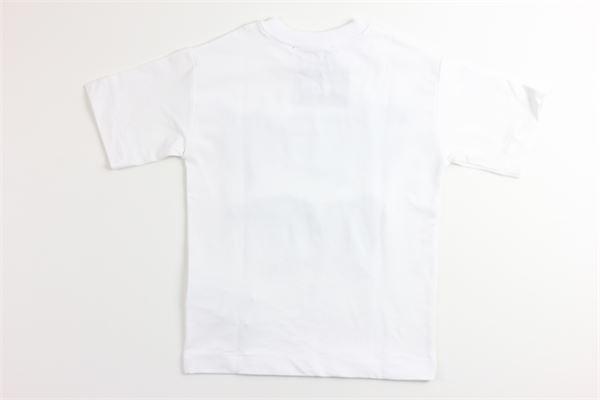 t-shirt tinta unita con stampa JEREMY SCOTT | T-shirts | J5M004BIANCO