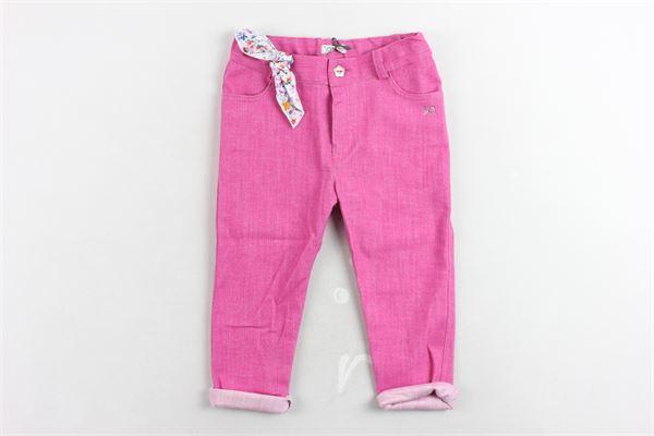 J.O. MILANO | Trousers | 074X9FUCSIA