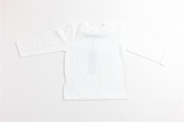 shirt tinta unita con stampa J.O. MILANO | Shirts | 966I2BIANCO
