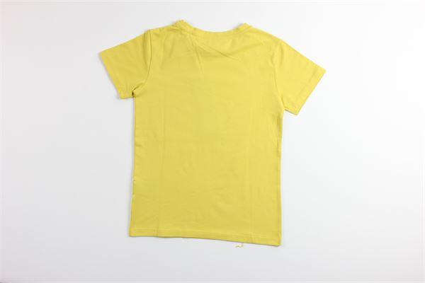 t-shirt tinta unita con stampa JOHN RICHMOND | T-shirts | RBA19074TSGIALLO