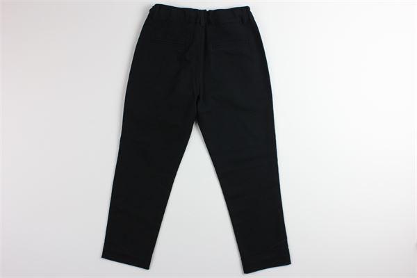 pantalone tinta unita girovita regolabile JOHN RICHMOND | Pantaloni | RBP19078PANERO