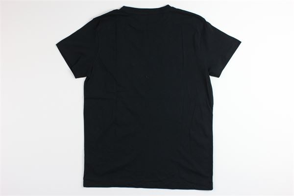 t-shirt tinta unita con borchie JOHN RICHMOND | T-shirts | RBP20148TSNERO