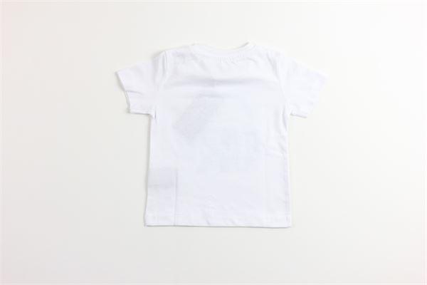 t-shirt tinta unita con stampa JOHN RICHMOND | T-shirts | RIP19053TSBIANCO