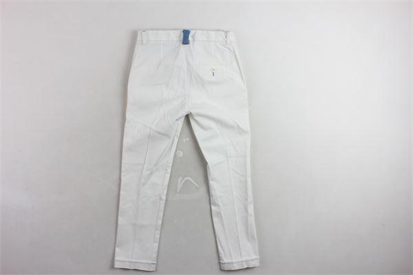 JOHN TWING | Trousers | JT1300BIANCO