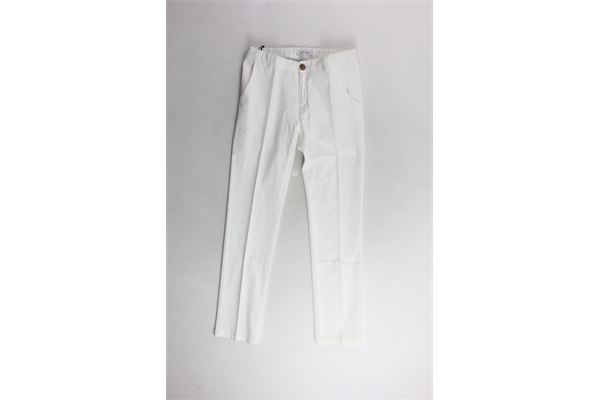 JOHN TWING | Trousers | JT194BIANCO