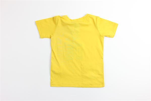 t-shirt tinta unita mezza manica K-WAY | T-shirts | K007JE0GIALLO