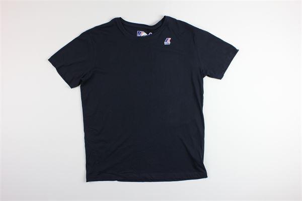 t-shirt tinta unita K-WAY | T-shirts | K007JEBLU