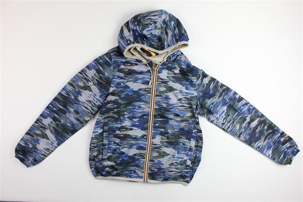 K-WAY | Jackets | K0085Y0BLU/BEIGE